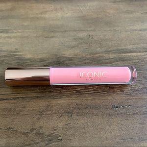 NEW Iconic London Pink Lip Plumping Gloss